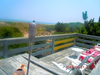 Virginia Beach house photo - VAST VIEWS from the UPPER DECK