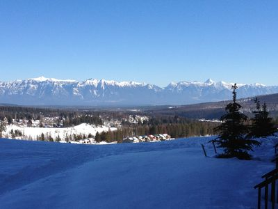 View of Fischer's Peak, right out your back door!