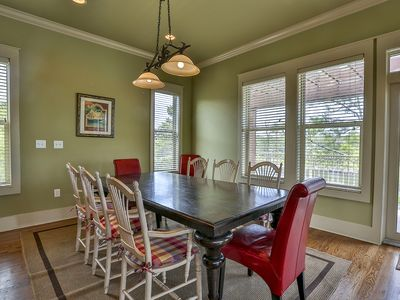 Blue Mountain Beach house rental - spacious dining area