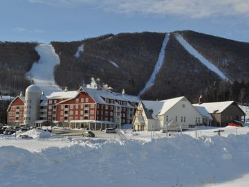 PHOTO OF SUGARBUSH MOUNTAIN ONLY - less than 8 minute walk from condo.