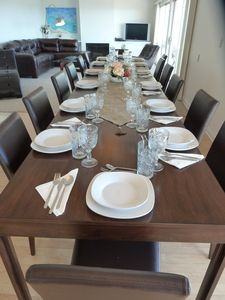Dining Table set for 14