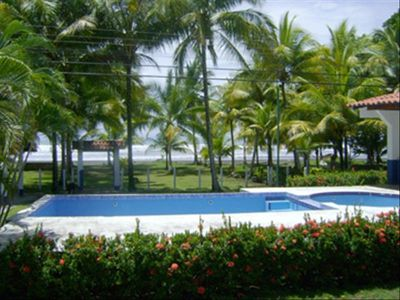 Enjoy ocean breezes and watch the waves roll in from the swimming pool.