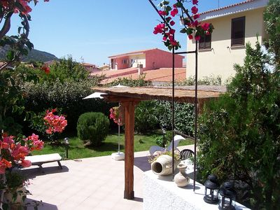 Casa Sandra, garden and terrace with sea view, free Wi-Fi