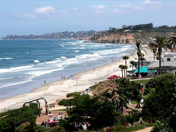 The Del Mar Powerhouse Park and Jake's Restaurant are seconds away!