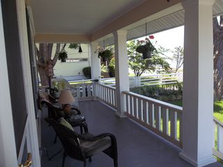 East Norwalk house photo - Front Porch Overlooking Water