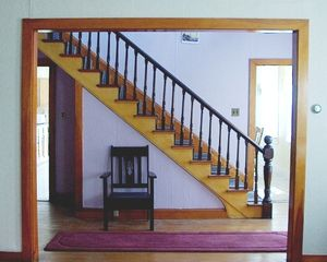 Eastport house photo - Stairs (view from living room)