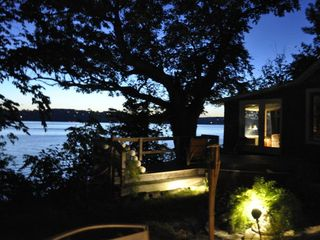 Evening - Canandaigua cottage vacation rental photo