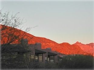 Sunset at Ventana Canyon Complex