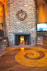 Ventura house photo - handcrafted floors and over 14 different exotic woods used throughout the home