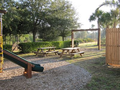 Play and picnic area
