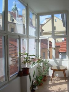 Mala Strana - Hradcany apartment rental - MALTEZSKE 6: the entrance is a nice veranda