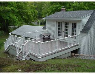 Ogunquit house photo - Ogunquit Beach Bungalow, private deck