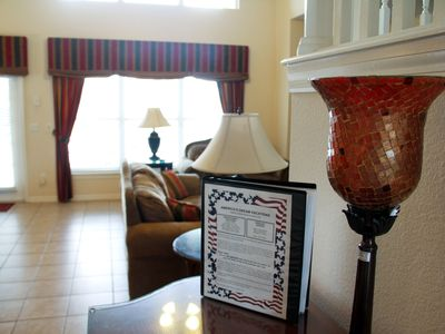 Professionally decorated interior with 24 hour property management nearby