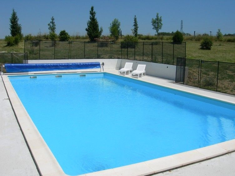 Spacious gite with large (12x6m) heated pool, play area & grounds
