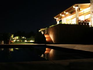 Valle de Bravo villa photo - Exterior lighting
