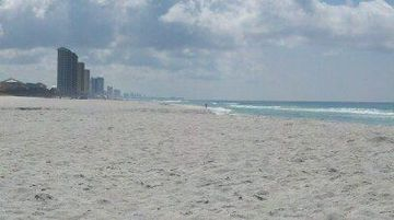 Sugar white sand and less crowds! Located on the west end of PCB.