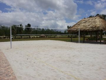 Volleyball Court At Paseo