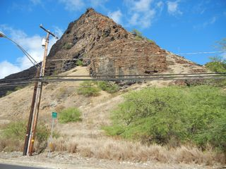 Makaha studio photo - Volcanic mountain view across street from Suite. This is the country living.