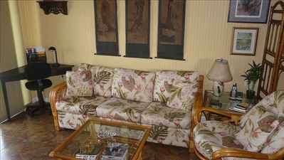 Kohala Ranch cottage rental - Sofabed for extra guests