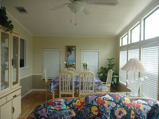 North Naples house photo - Florida Room with pass through window from kitchen to dining