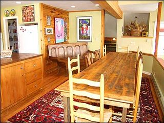 Snowmass Village townhome photo - Dining area for 10