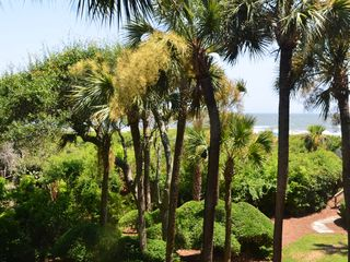 Kiawah Island villa photo - Ocean view from living room window