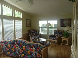 North Naples house photo - Florida Room seating