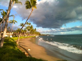 Lahaina condo photo - Puamana beach