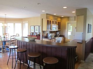 Crystal Mountain, Thompsonville condo photo - Counter Seating and Large Dining Room Table