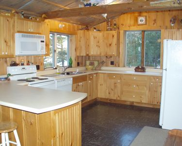 Extra Large fully equipped kitchen,