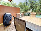 Deck - Fire up the gas grill and host a family cookout on the private deck.