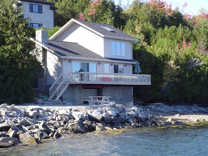 Exquisite oceanfront cottage right on Somes Sound