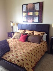Master Bedroom on Main Floor, King Bed