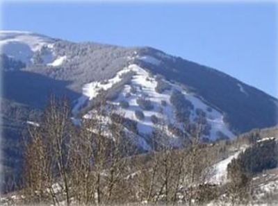 Beaver Creek townhome rental - Wow! Look at those views from the deck.