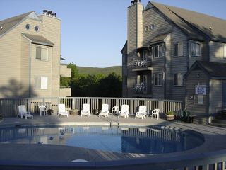 Outside Pool - Gatlinburg condo vacation rental photo
