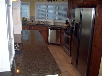 Gorgeous granite countertops