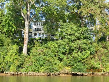 A view of the Riverhouse from the water...