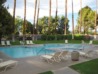 Palm Springs condo photo - Same pool different angle.