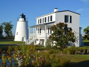 Tall Timbers house rental - Piney Point Light House and underwater park, German U-Boat, is 5 miles away.