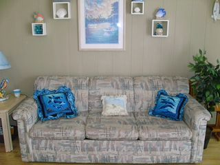 North Wildwood condo photo - Full Size Sleeper Sofa