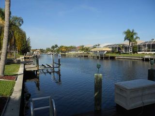 Cape Coral villa photo - looking north from dock area