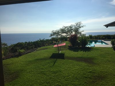 Fabulous View Home with Incredible Views of The Ocean, 4 Volcanoes and Maui