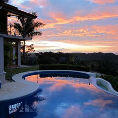 Nosara house photo - Pool at Sunset