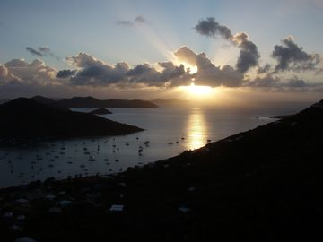Sunrise over Coral Bay