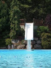 Poconos Pines - Pinecrest Lake townhome photo - water slide