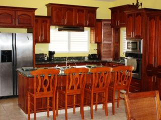 Guayama house photo - Kitchen with breakfast bar/island