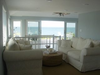 Wading River house photo - Living Room with a view to the beach