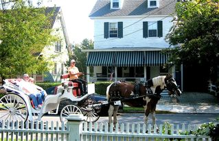 Cape May house photo - Kids love watching the horse and carriage clop by