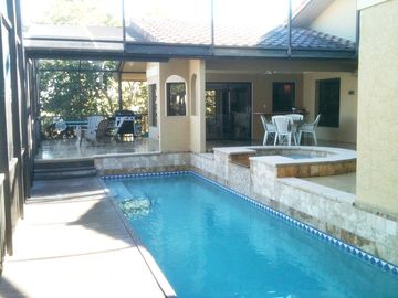 Pool and Covered Patio