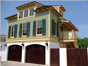 Rosemary Beach cottage rental - Madison Carriage House at 45 Spanish Town Lane. South of 30-A.